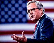 catch up — Jeb Bush must make tactful changes to his campaign in order to win the Republican bid. Google Images