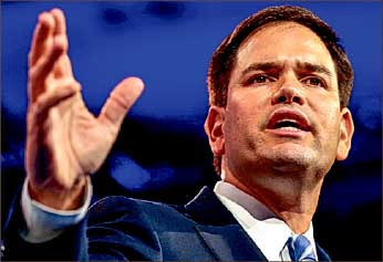 candidate — A number of candidates have taken shots at Sen. Marco Rubio. Google Images