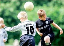 Heading — U.S. Soccer banned heading in leagues with players under the age of 10. Google Images