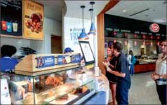 snacks — Auntie Anne's to be included in the PLUS+ dining plan. Photo credit: Michela Diddle