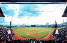 Panorama — The Flames opening day is Feb. 23 at 3 p.m.  Photo credit: Courtney Wheeler