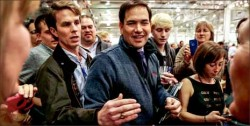 iowa — Sen. Marco Rubio gained momentum going into the very important New Hampshire primary. Google Images