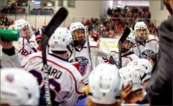 crossing cultures — Most of Liberty's Division I Men's hockey team will travel to Asia. Photo credit: Leah Seavers