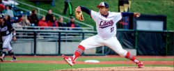 Southpaw — Victor Cole has tasted success from the moment he first took the mound, a trend he has continued at Liberty. Photo credit: Michela Diddle