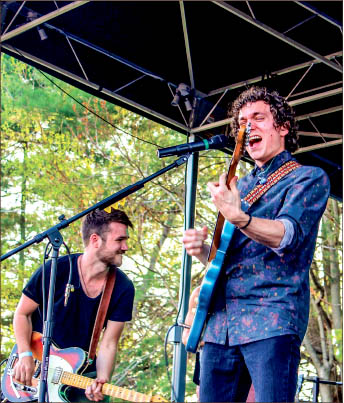 flashback — Local artists, such as Atlas Rhoads, played at Lynchstock 2015. Photo provided