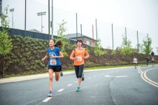 FUND RUN — More than 85 donors raised nearly $5,000 for Freedom 4/24 during the Run 4 Their Lives 5k. Photo provided