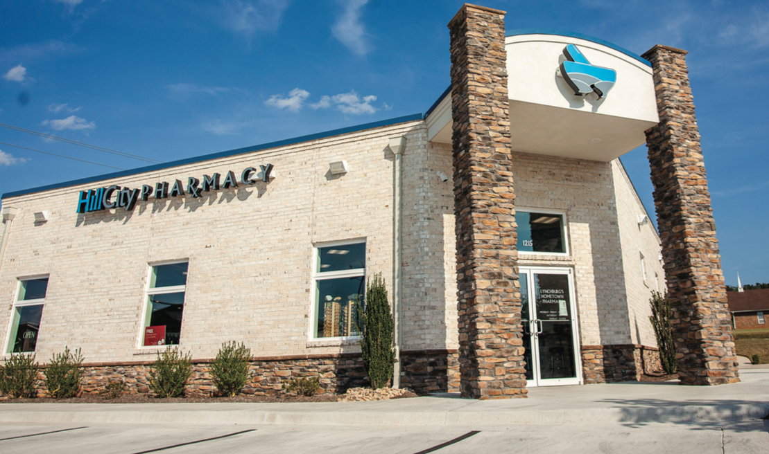 CENTER — Hill City Pharmacy, located on Greenview Drive, offers free delivery of prescription medicines to all Liberty students. Photo credit: Devin harris