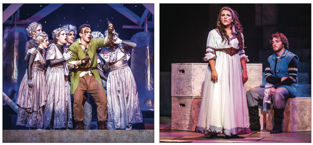 "PERFORM — Alluvion Stage Company's production of ""The Hunchback of Notre Dame"" was the largest production in Liberty's history, with a total 98 people involved in the musical.  Photo credit: Michela Diddle"