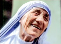 SISTER — The canonization process for Mother Teresa began in 2002 under Pope John Paul II . Photo credit: Google images