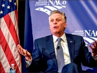REINSTATE — Terry McAuliffe took office as governor in 2014. Photo credit: Google images