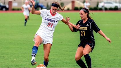 Get Big — Junior forward Isabella Habuda battled for position against ASU. Photo credit: Michela Diddle