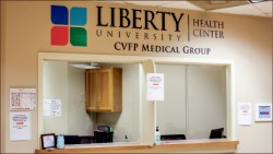 WELLNESS — The Health Center is conveniently located in Green Hall for Liberty students. Photo credit: Christianne Gormley