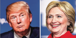 RECORD — The  rst presidential debate of 2016 brought in over 80 million viewers. Photo credit: Google Images