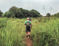 EXPLORE — Brentwood Church team members surveyed the wilderness in Uganda to evaluate progress of the Seed program. Photo credit: Terrell lanier