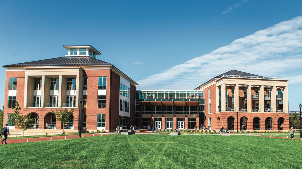 SETTING THE STANDARD — The Jerry Falwell Library was honored in the Library Journal. Photo credit: Caroline Sellers