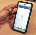 GETTING AN UPGRADE — Students now use the Top Hat app on their phones instead of the Turning Technologies clickers that have been used by professors in past years. Photo credit: Christeanne Gormley