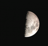 MOON — Viewers can get closeups of the moon, planets and stars at the observatory. Photo provided