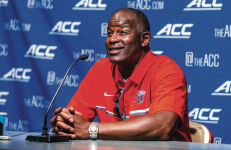 READY — Flames Head Coach Turner Gill prepared for his  fifth season in the Big South. Photo credit: Michela Diddle