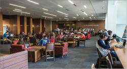 INNOVATION — The Jerry Falwell Library offers a variety of learning programs and study resources for Liberty students.   Photo Credit: Caroline Sellers