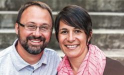 TEAM — Barbára Hubbard and her husband, Patrick Hubbard, play a large role in the ministry. Photo provided.