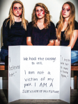 SURVIVOR — Members aim to show the reality of sexual assault. Photo provided.