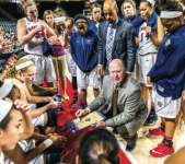 EXPERIENCE — Head Coach Carey Green is entering his 18th season with 403 victories. PC: Kaitlyn Becker Johnson| Liberty University News Service