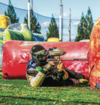 SPLAT—The Liberty University paintball team remained undefeated at the tournament Oct. 22. PC: Joel Coleman | Liberty University News Service