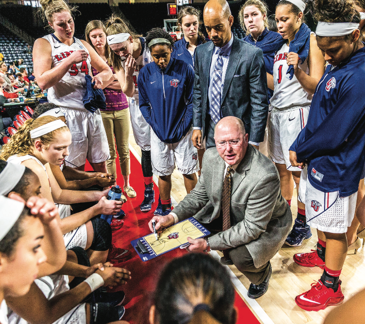 EXPERIENCE — Head Coach Carey Green is entering his 18th season with 403 victories. Photo Credit: Kaitlyn Becker Johnson