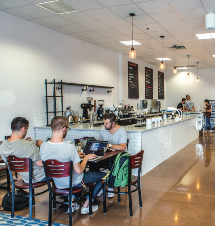 CAFFEINATE — Third Wave Coffee offers distinctive drink blends and roasts from ethically-sourced locations. Photo credit: Caroline Sellers