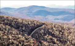 VISTA — The Roan Mountain on the Appalachian Trail is one of the sites that would be affected by the Mountain Valley Pipeline.  Photo Credit: Julie Deutsch