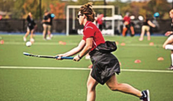 TEACH — Nikki Parsley joined the Liberty Flames field hockey team as an assistant last May.