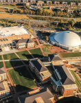 GROWTH — Liberty University's student enrollment grew by 847 per- cent in the past 25 years, resulting in a larger local economic impact.  Photo Credit: Amber Tiller
