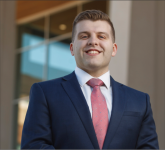 STANDARD — Former Liberty student Connor Carew will speak at Project Lead's meeting Feb. 23 about the characteristics of leadership that landed him a job on Wall Street. Photo Credit: Nathan Spencer