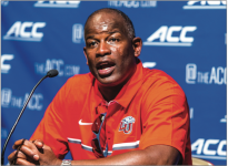 RECRUITS — Turner Gill heads into his sixth year at the helm of Liberty Flames football. Photo Credit: Michela Diddle