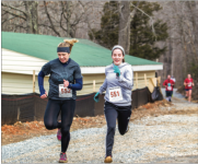 THE GREAT OUTDOORS— The 2016 Outdoor Rec Fest gave students the chance to participate in the Arctic 5k (pictured) and meet with outdoor outfitters to learn about types of gear. Photo Credit : Jessie Rogers