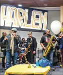 "GET JAZZY — Students attended the ""Harlem to Hip- Hop"" event in the Montview Student Union Feb. 3.  Photo Provided"