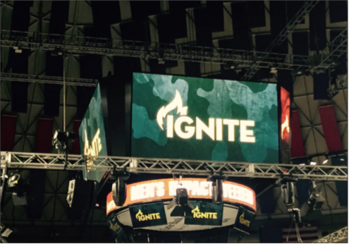 INSPIRE — The Ignite Men's Impact Weekend is held annually in the Vines Center over students' spring break. This year the conference will hold more than 10,000 visitors. Photo Credit