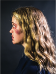 This illustrative piece demonstrates the physical violence women face in abusive relationships.  Photo IllustratIon - Michela Diddle