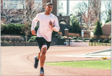 SPRINT — Runners can build up endurance by alternating walking, jogging and running when training. Photo Credit: Manuel Anderson