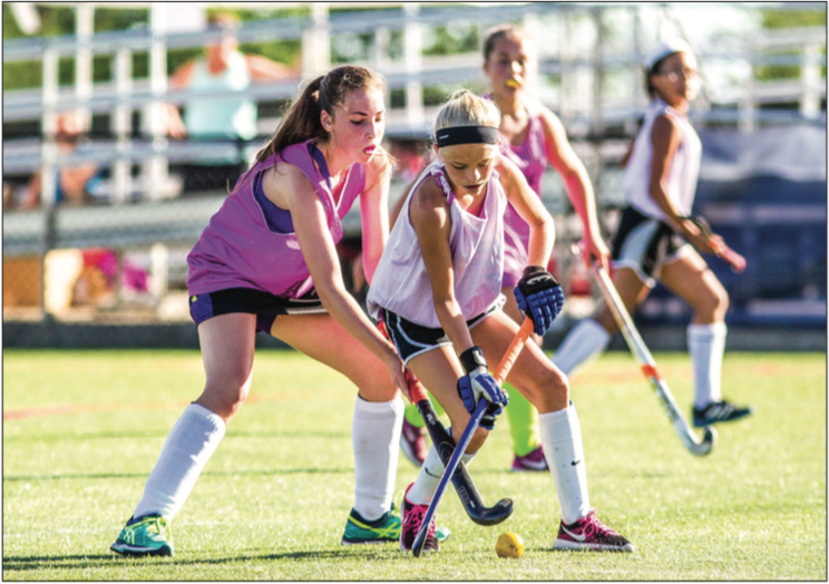 EXHIBITION — Liberty hosted  eld hockey tournaments on the south campus  fields June 19, 2016 at the Virginia Commonwealth Games. Photo Credit: Mitchell Bryant