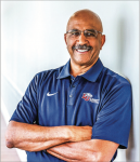 EXPERIENCE — Ed Gomes is entering his 17th year on staff for the Liberty football program. Photo Provided