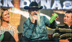 SHARE — Si Robertson spoke at Convocation and told stories about his five years on Duck Dynasty. Photo Credit: Michela Diddle