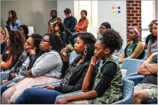 CANDID CONVERSATIONS — Students met at the DIRT talk to discuss how cultural stereotypes impact their relationships. Photo Provided