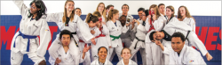 TEAM SPIRIT —The Liberty University taekwondo team has been a club sport since 2012. The team has been traveling and competing successfully throughout the 2016-2017 school year. Jessie Rogers