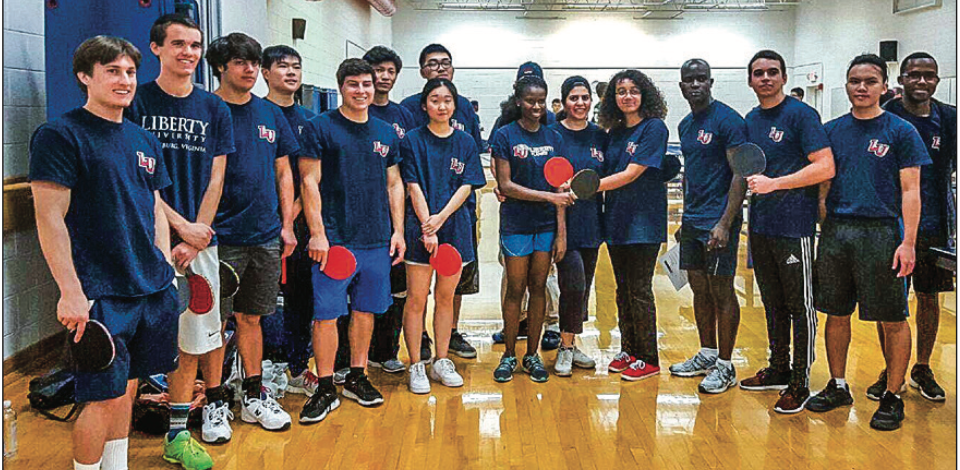 COMPETE— The table tennis team hopes to eventually become a club sport. Photo Provided
