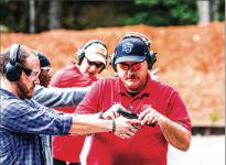 DEFENSE — Liberty hosted classes to train students to carry  rearms on campus with an appropriate permit. Photo Credit: Joel Coleman