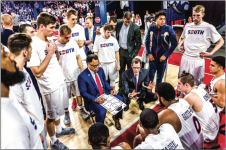 EXCELLENCE — During Coach McKay's fourth season as head coach, he led the Flames to a 14-4 conference record. Photo Credit: Nathan Spencer