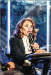 JUSTICE PIRRO — Pirro was interviewed after addressing convocation. at Liberty University hosts events and travels to conferences. Photo Credit: leah Seavers