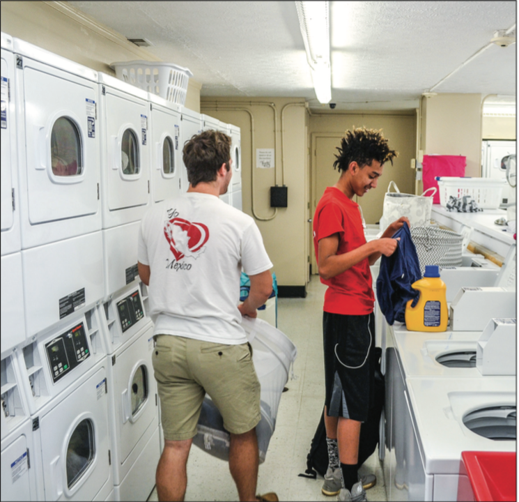 ADULTING — College students have learned about everything from laundry to persistence. Photo Credit: Alexandra Ramey