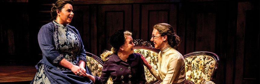 Farcical comedy arsenic and old lace takes the black box for Farcical comedy plays